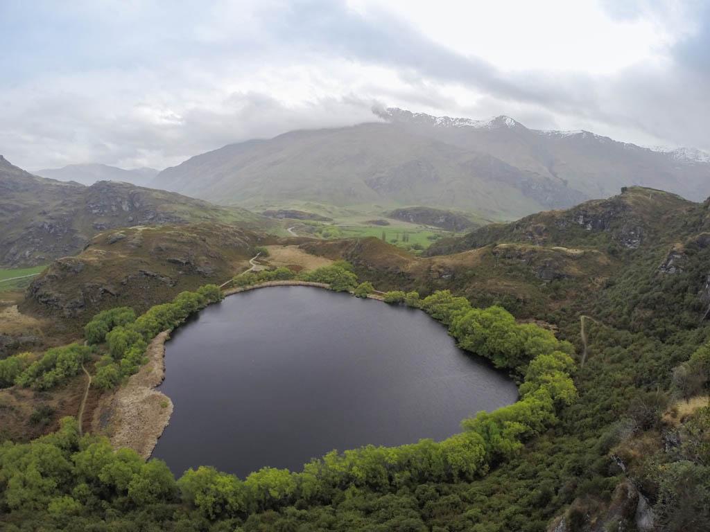 Diamond Lake près de Wanaka