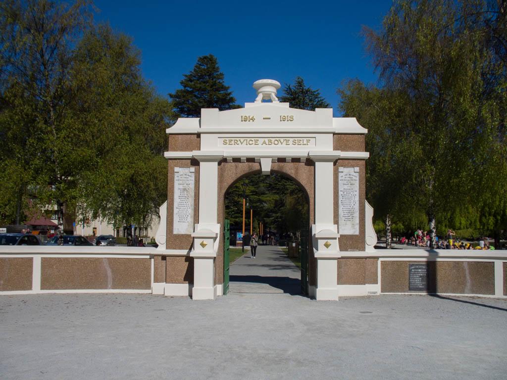 Queenstown War Memorial