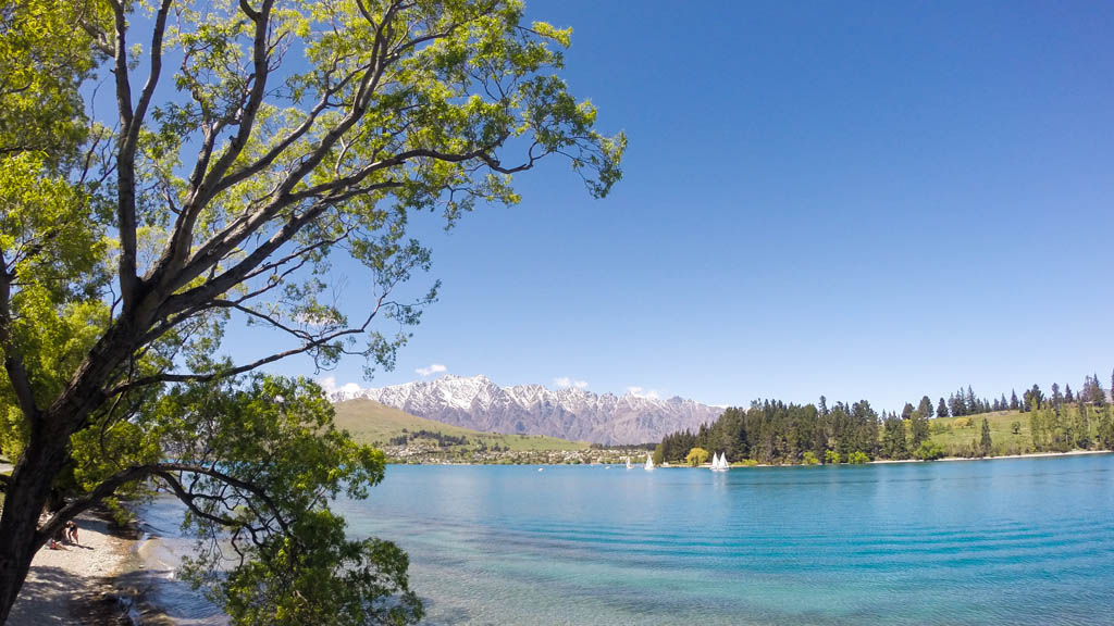 Lake Wakatipu et The Remarkables