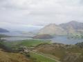 Zoom sur Parkins Bay et Glendhu Bay
