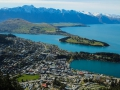 Vue d'ensemble de Queenstown