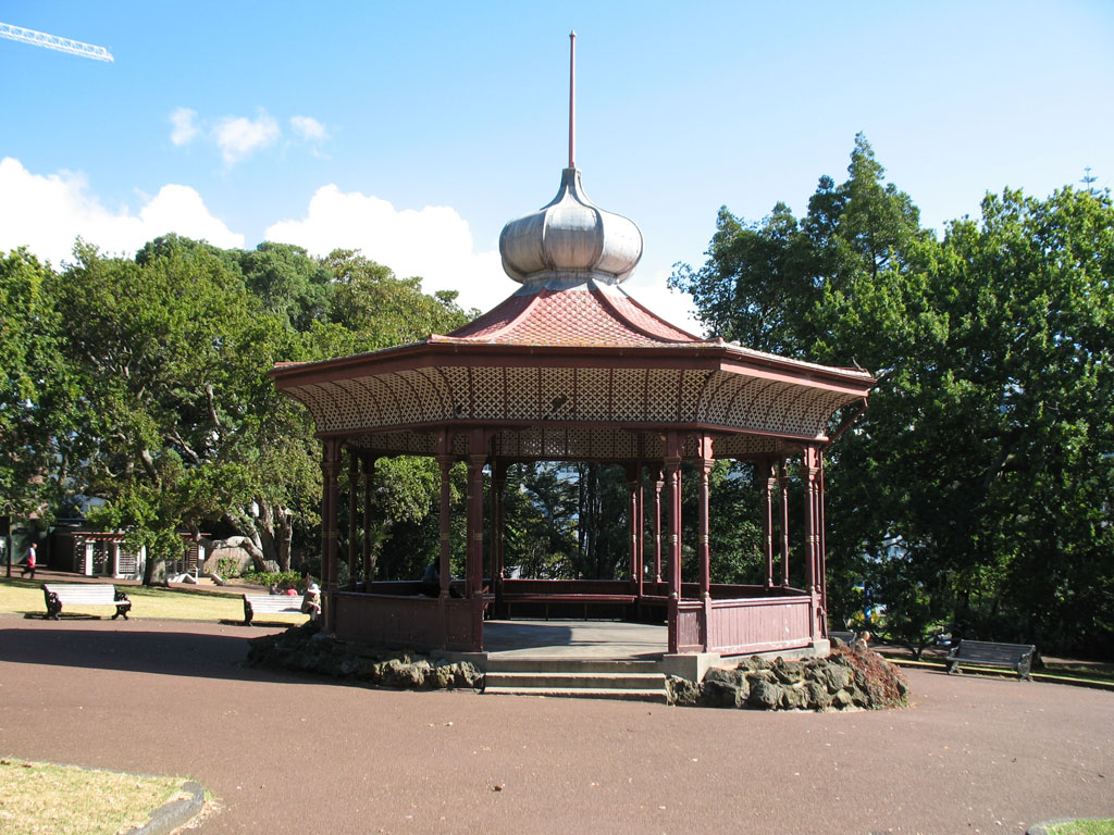 017 - Albert Park - Band Rotunda