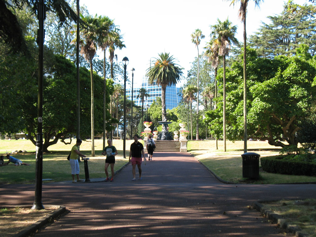 018 -  Albert Park - View from Rotunda