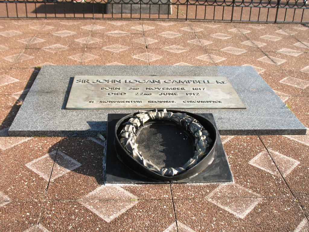 037 - Plaque commémorative de Sir John Logan Campbell