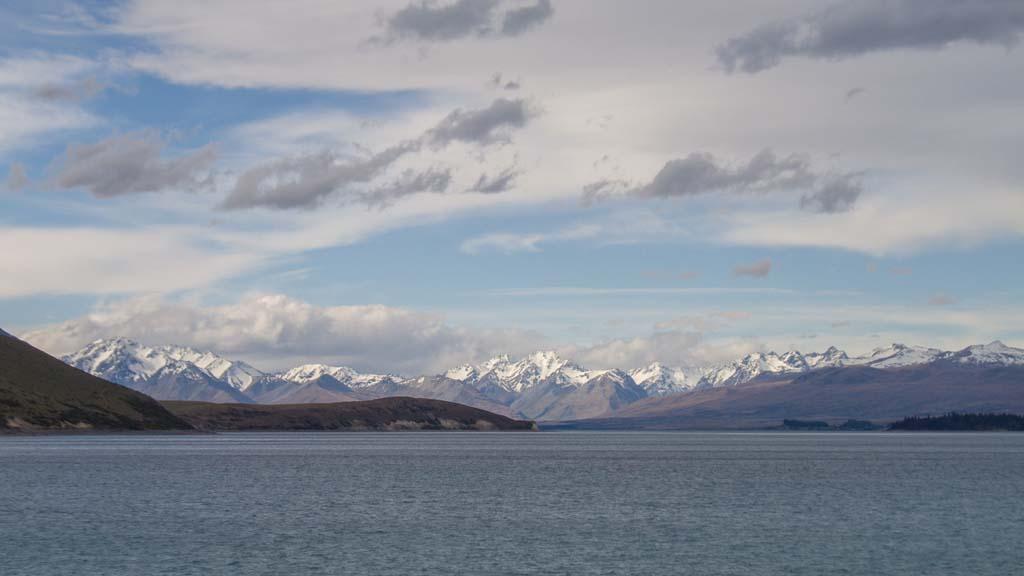 Panorama du Lake Tekapo