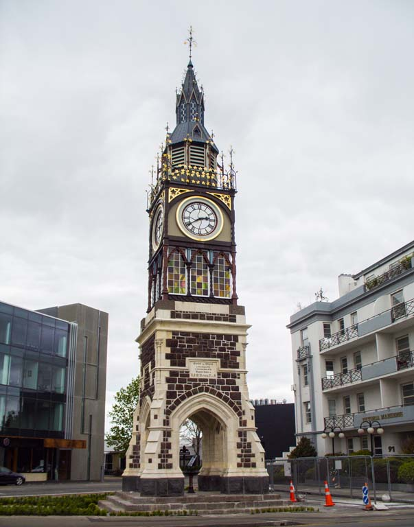 Victoria Clock Tower de Christchurch