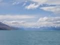 Panorama sur le Lake Pukaki