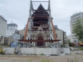 Trou béant de la cathédrale de Christchurch