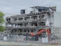 Bâtiment détruit