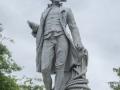 Cook Statue à Christchurch