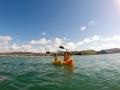 Du Kayak en mer