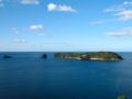 Vue du départ pour Cathedral Cove