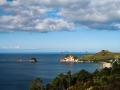 Autre vue du départ de Cathedral Cove