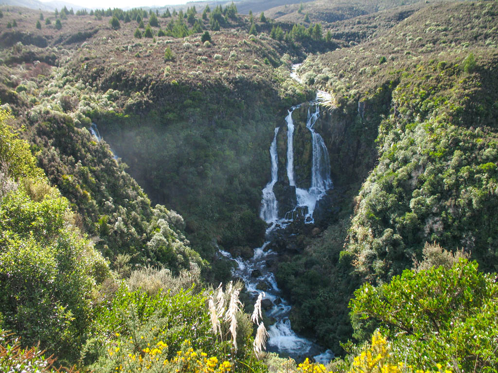 Cascade entre Taupo et Napier