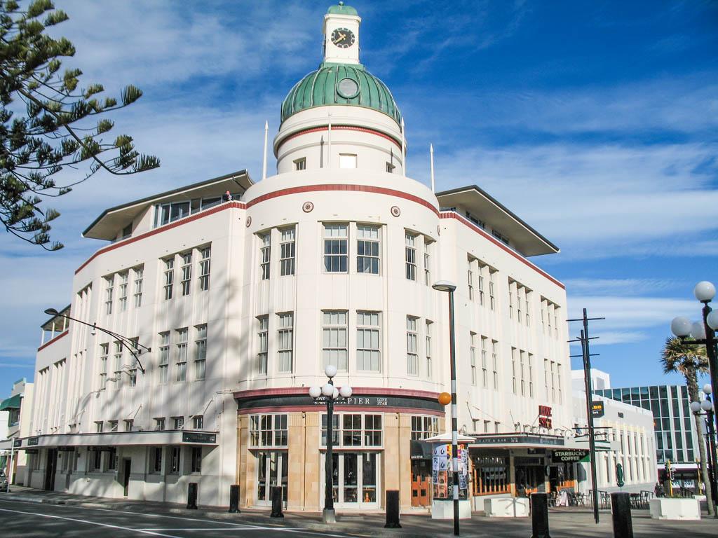Art Deco à Napier