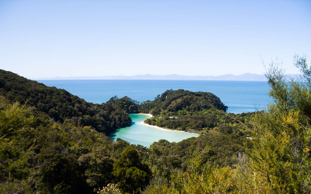Frenchman Bay à Abel Tasman National Park