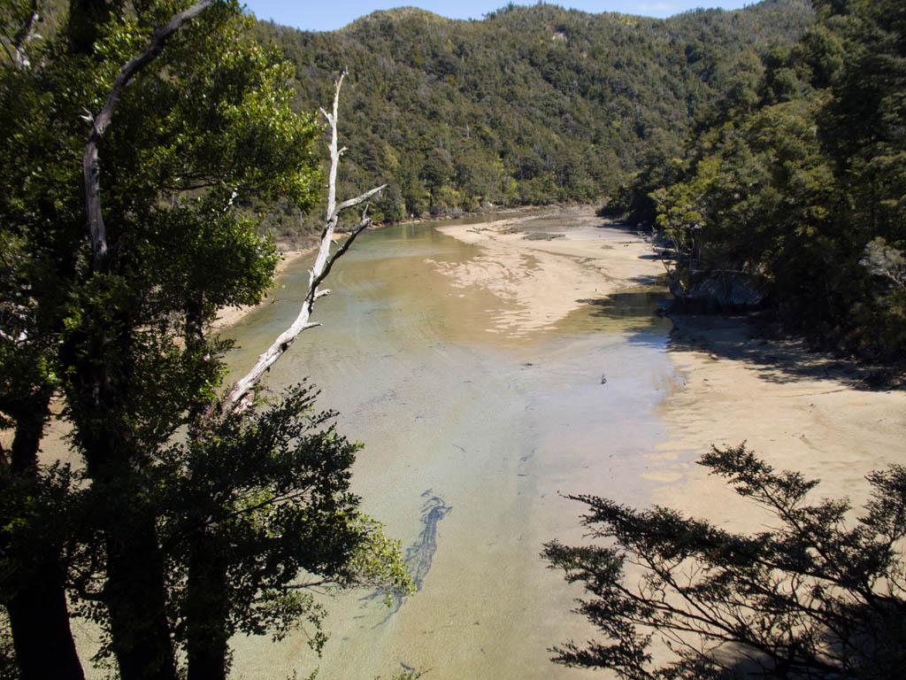 L'eau qui s'invite dans les terres