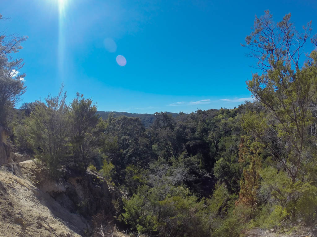 Panorama via la Coastal Track
