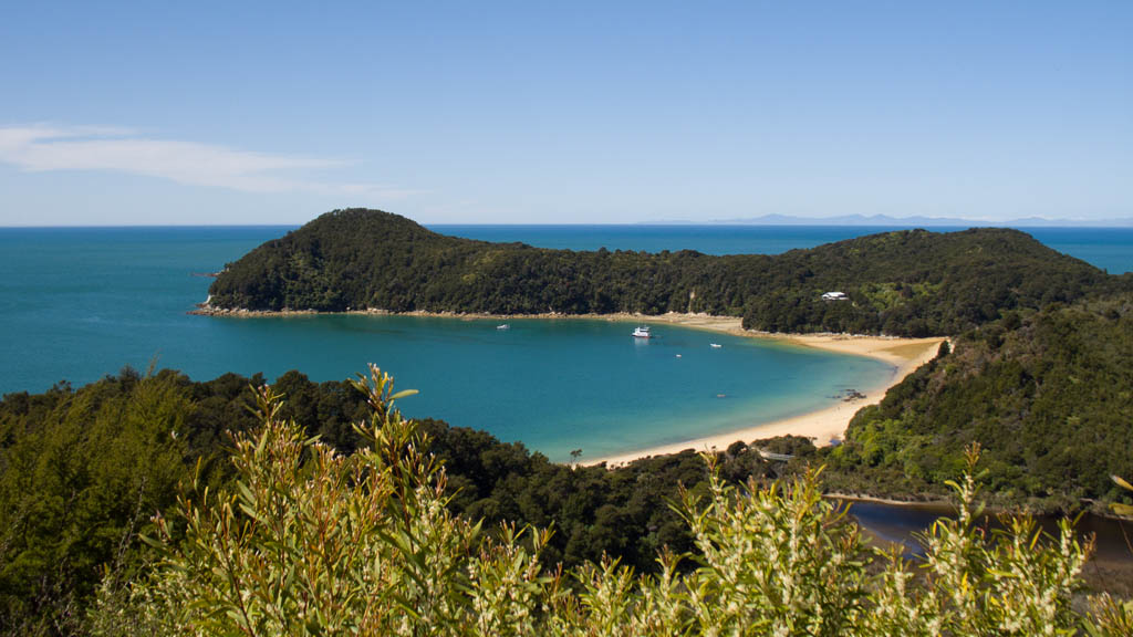 Anchorage à Abel Tasman National Park