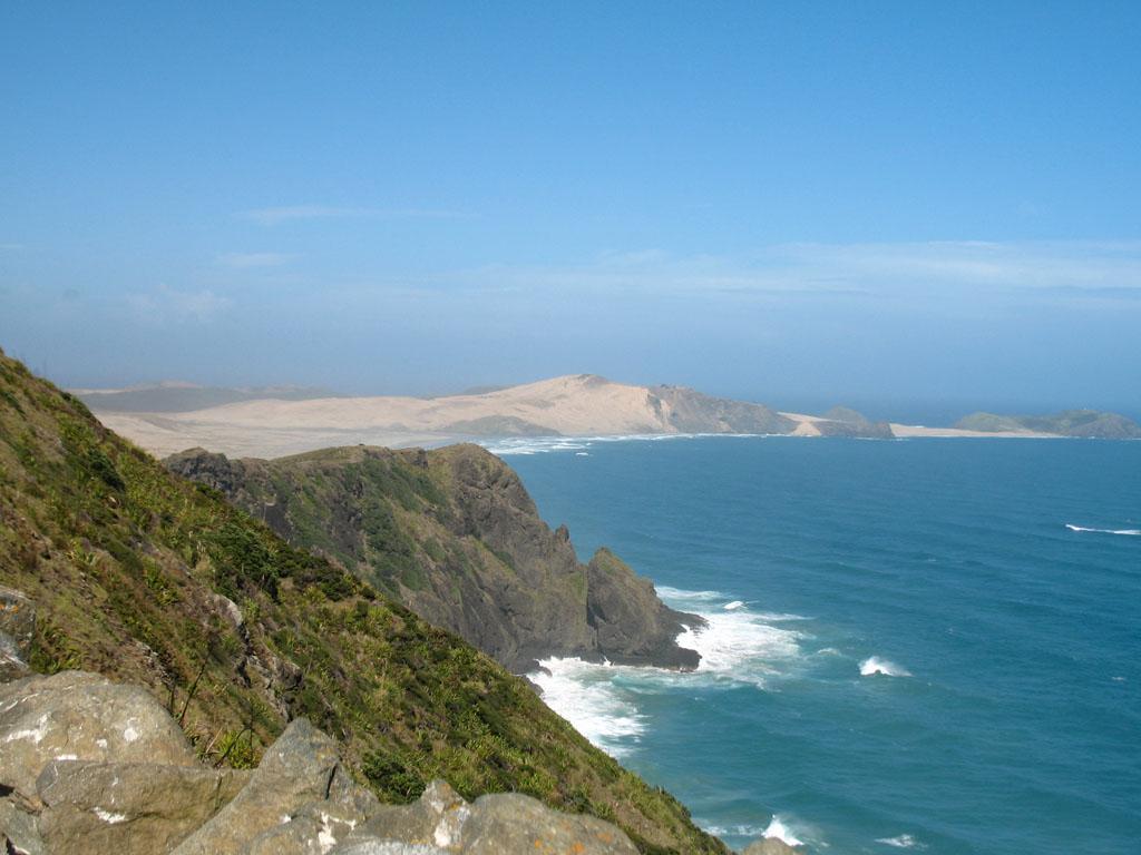 104 - Vue des côtes depuis Cape Reinga