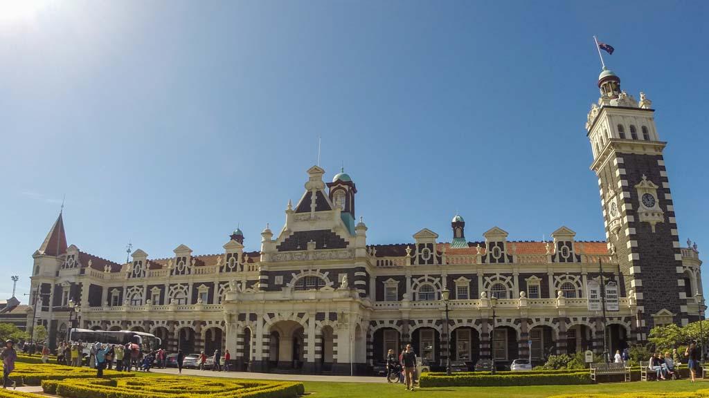 Railway Station de Dunedin
