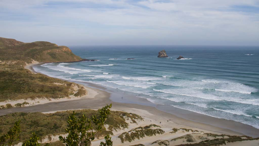 Sandfly Bay à Otago Peninsula