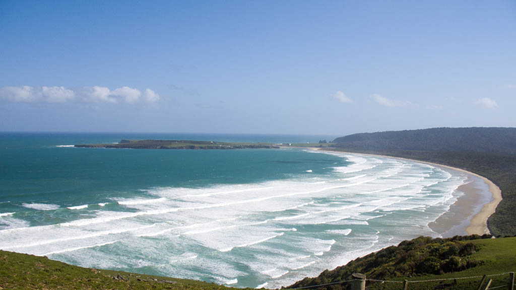 Tautuku Bay à The Catlins