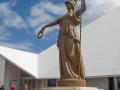 Statue du musée d'Invercargill