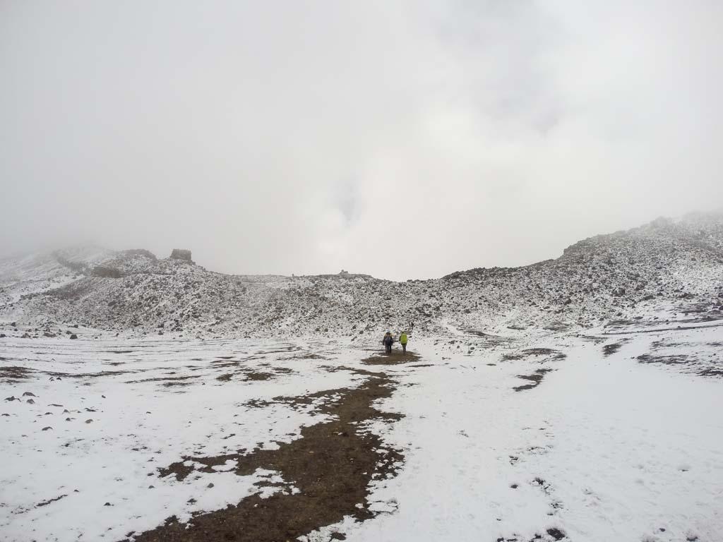 Dans le South Crater