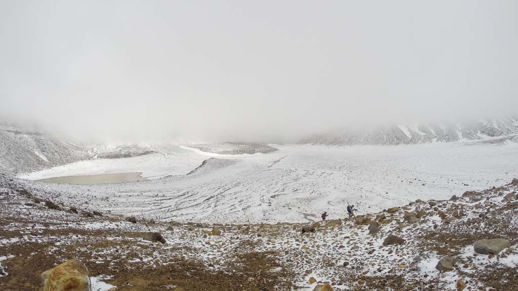 Vue du South Crater