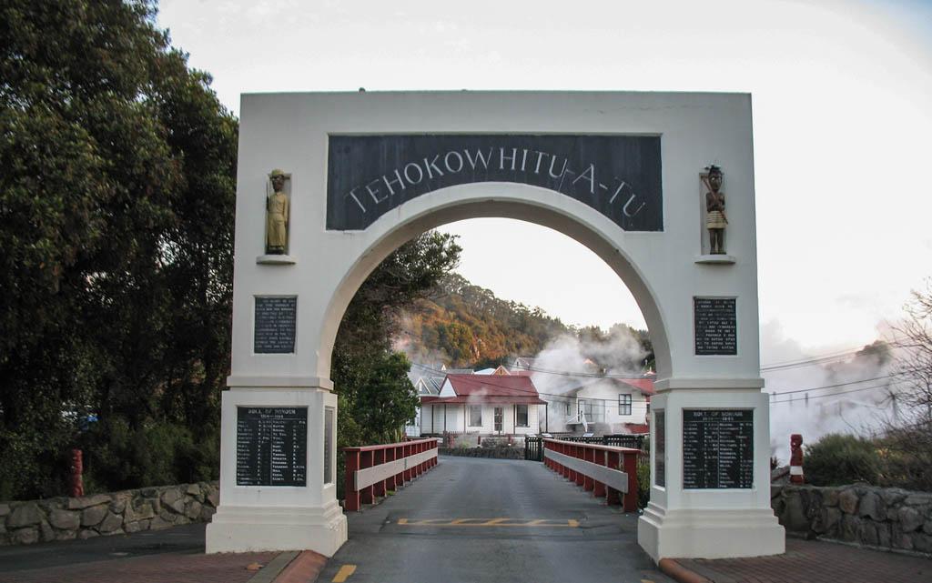 Entrée de Whakarewarewa Village