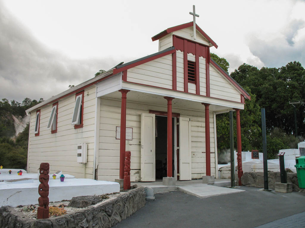 Catholic Church au Whakarewarewa Village