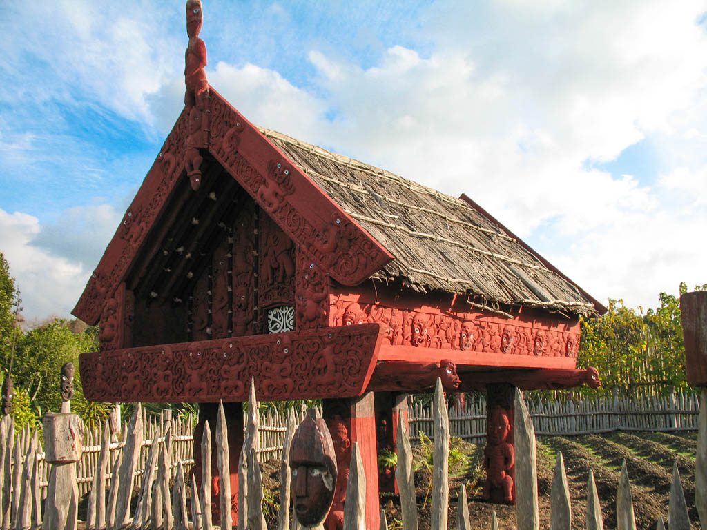 Jardin Maori Te Parapara (Hamilton Garden)