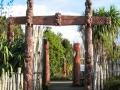 Entrée du Jardin Maori Te Parapara (Hamilton Garden)