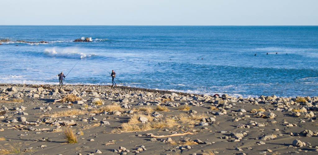 Pêcheurs de Turakirae