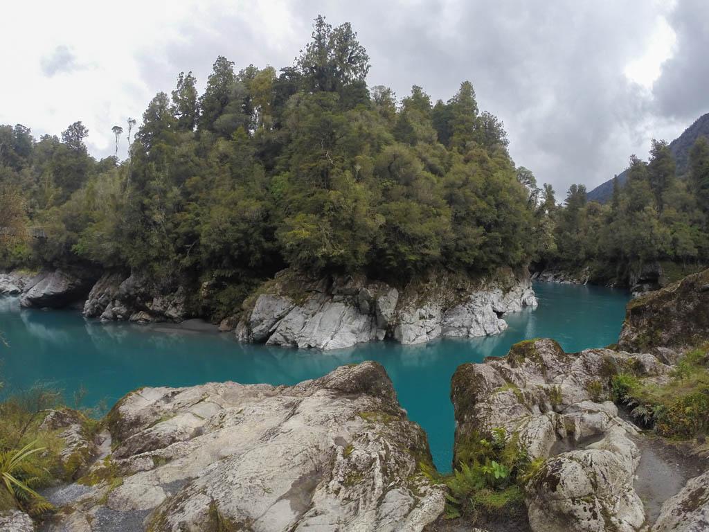 Panorama de Hokitika Gorge