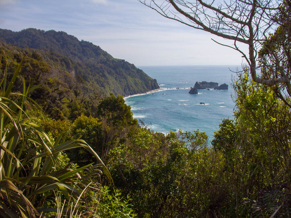 Knights Point, vers Haast