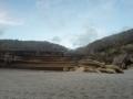 Truman Beach et sable creusé