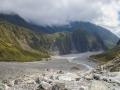 Vue d'ensemble de la vallée du Fox Glacier