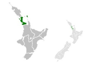 Region Auckland Carte
