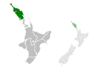 Carte du Northland