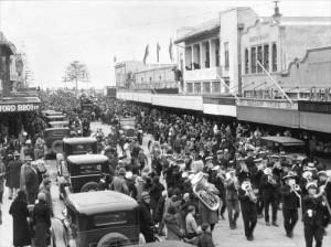 Célébration à Napier
