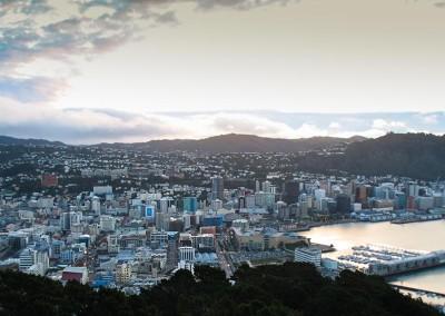Wellington depuis le Mont Victoria