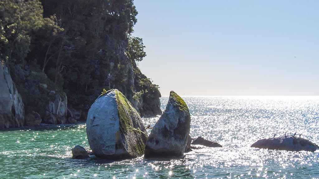 Split Apple Rock à Abel Tasman National Park