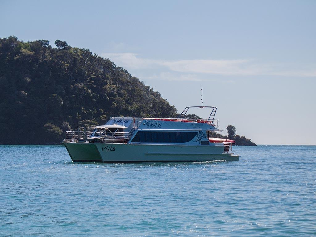 Abel Tasman - WilsonTaxi Boat