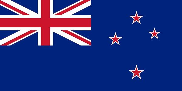 Blue Ensign de Nouvelle-Zélande en 1869