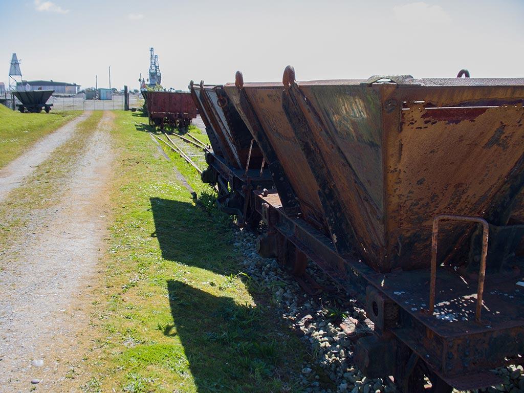 Wagons de Greymouth