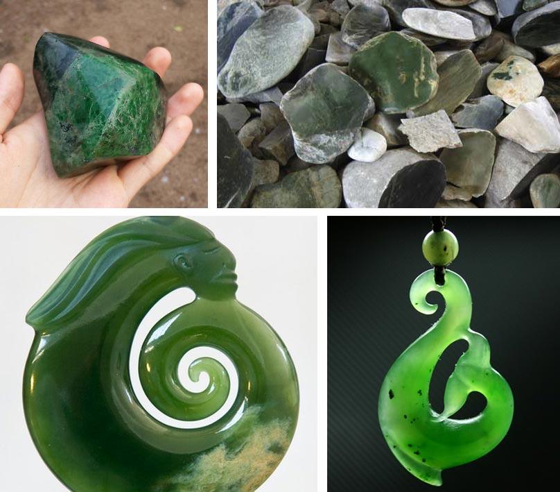 Pierre de jade et bijoux