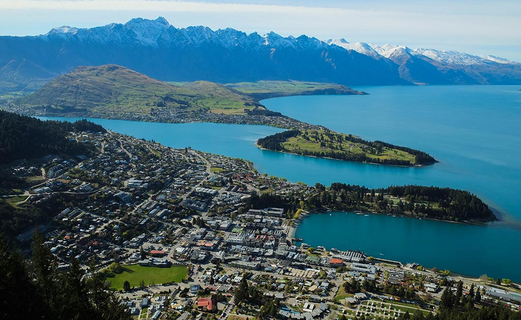 Panorama de Queenstown
