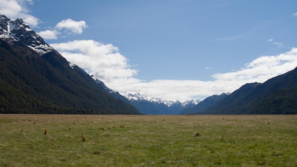 Eglinton Valley - Nouvelle-Zélande
